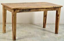 Tisch Rustic Esstisch Küchentisch aus Mangoholz massiv im Shabby Antik Stil