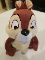 """Disneyland Walt Disney World 8""""( Chip) & Dale Plush Chipmunk Squirrel Brown"""