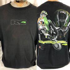 Vintage 2000 Ricky Carmichael SFX Supercross T-Shirt Size 2XL Black RC4