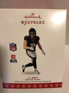 J. J. WATT Hallmark Keepsake Ornament Houston Texans