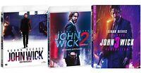 JOHN WICK - COLLEZIONE 3 FILM (3 BLU-RAY) Keanu Reeves