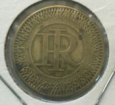 Muncie Indiana IN Indiana Railroad Div of Wesson Co Transportation Token