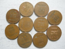 Lot of ten (10) MARTA (Atlanta, Georgia) transit tokens - GA60AH