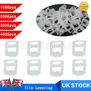 1000/2000/3000/4000x Tile Leveling Spacer Wall Flooring Levelling Clip System UK