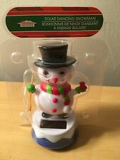 New Solar Powered Dancing Snowman
