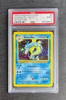 Pokemon Card PSA 9 Dutch Gyarados Holo 1st Edition Base Set #6/102 Mint