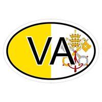 Vatikanstadt VA - csd0268 Autoaufkleber  Aufkleber KFZ