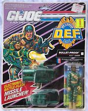 MOC 1991 BULLET-PROOF D.E.F. FORCE GI JOE ARAH HASBRO
