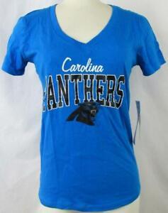 Carolina Panthers Womens Small thru X-Large Screened Team T-Shirt ACPN 68