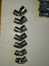 Set Of Craftsman Swivel Sockets- Set Of (7) 3/8� Drive- 3/8 To 3/4� - Nice Cond.