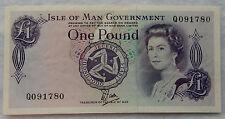 No Date 1979 Isle of Man 1 Pound Banknote P.34.a SB5691
