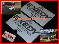 "2x 6"" 15.2cm EXEDY Clutch Racing Decal Sticker for rx-7-8 mx-5 sentra BRZ GT-R"