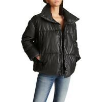 Vigoss Women's Matte Quilted Short Winter Puffer Coat with Pillow Collar