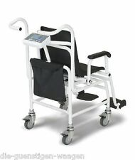 Stuhlwaage Medizinische Zulassung 250kg /100g  fahrbar Akku  geeicht Sitzwaage