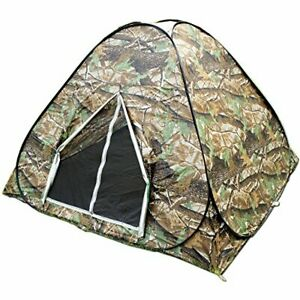 BZTANG Explorer Outdoors 3-4 Persons Camouflage Camping Hiking Easy Setup Ins...