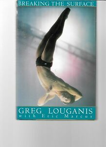 "Greg Louganis, Olympic Diver,  ""Breaking The Surface"" Signed"
