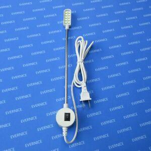 10 LED MAGNETIC BASE GOOSENECK LIGHT LAMP FOR JUKI DDL-8700 8500 8600 9000 5550
