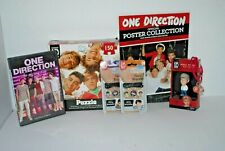 One Direction Boy Band 1D Hasbro Mini Figure, Bracelets, Puzzle, DVD, Posters