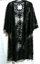 Bnwt Black Kimono Cover up
