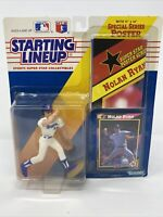 Vtg 1992 NRFB NIP starting lineup sports star collectibles Nolan Ryan figure MLB