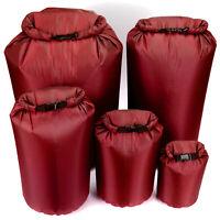Light Weight Waterproof Dry Bag Sack Kayak Canoeing Camping Sailing Fishing Red