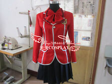Guilty Crown Inori Yuzuriha School Girl Uniform Cosplay Costume K002