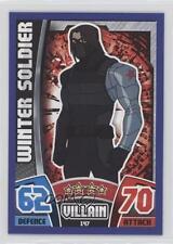 2015 Topps Marvel Avengers Hero Attax Base European #147 Winter Soldier Card 0p3