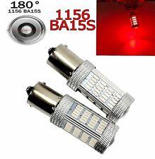 Red Rear Turn Signal Light 1156 BA15S P21W 7506 3497 1141 92 LED Bulb A1 Euro X