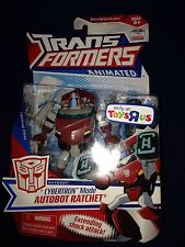 TRANSFORMERS ANIMATED Deluxe G1 Deco Autobot Cybertronian Mode Ratchet New Misb