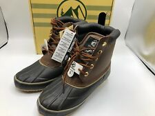 Tamarack Duck Snow Boots Kids Size 5 Brown Black All Weather