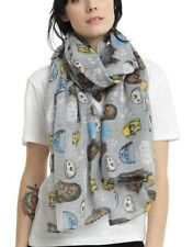 """Star Wars Disney Not The Droids Your Looking For Sheer Oblong Scarf 44""""x72"""" NWT!"""