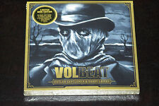 VOLBEAT OUTLAW GENTLEMEN & SHADY LADIES LIMITED BOOK EDITION 60 PAGE + CD + 7''