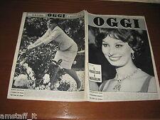 OGGI 1960/23=SOFIA LOREN=MARIA BEATRICE DI SAVOIA=PATERNO'=MONICA VITTI=