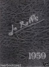 St. John Fisher College Rochester New York 1959 Jo Roffs Yearbook Annual
