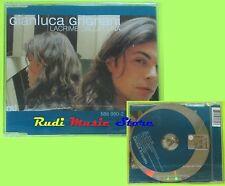 CD Singolo GIANLUCA GRIGNANI Lacrime dalla luna 2002 Eu UNIVERSAL mc dvd (S10**)