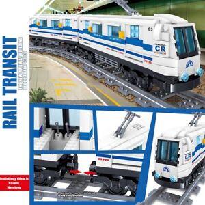 Creator Expert Building Blocks Track Kit Moc Lot Train Lot Toys for Children