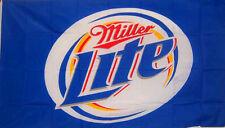 New listing Miller Lite Beer Flag 3' X 5' Deluxe Indoor Outdoor Banner