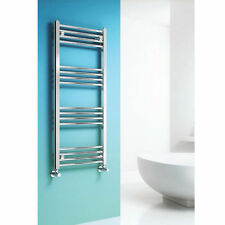 Reina Linea 800mm High x 600mm Wide Chrome Curved Designer Towel Rail