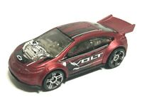 Red Chevy Super Volt HW City 2015 Hot Wheels 1/64 Diecast Car Loose