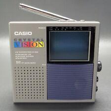 Casio EV-2500B Crystal Vision LCD Television/Radio