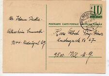 Suiza Entero Postal circulado año 1967 (DL-594)