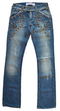 """Met """"Karma"""" Designer Denim Jeans with Studs Size 25 New With Tags £195"""