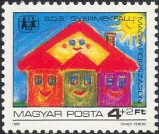 Hungary 1985 SOS Children's Villages Fund/Welfare/Health/Animation/Art 1v n45480