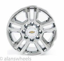 "Chevy Silverado HD 2500 3500 8Lug 8x6.5"" 20"" Chrome Wheels Rims Suburban 5705"