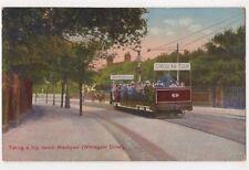 Taking A Trip Round Blackpool, Whitegate Drive Tram Postcard, B651