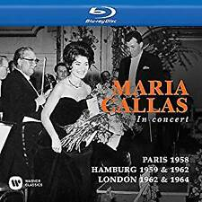 Maria Callas - Paris 1958/Hamburg 1959 & 1962/Covent Garden, L (NEW BLU-RAY SET)