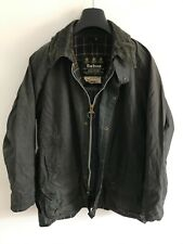 Mens Barbour Beaufort wax jacket Dark Blue coat 42 in size Medium / Large M/L #8