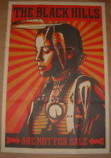 Black Hills Are Not For Sale Shepard Fairey Print Poster Paster 2012 Art