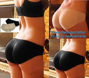 Women's Padded Hip Enhancer Butt Lifter Body Shaper Underwear Panties Shapewear