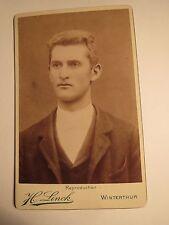 Winterthur - Herr Burgi / Bürgi als Mann im Anzug - Portrait  / CDV